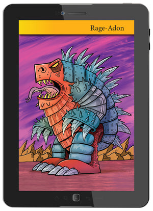 "Draw Giant Monster ""Kaiju"" Using Numbers (Digital Book)"