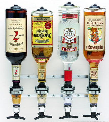 4 Bottle Wall Bracket