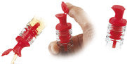 Pour 'N Seal Free Flow Pourer with Lid / Dozen