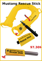 Mustang rescue stick