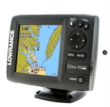 Elite-5m HD avec Cartes Gold de Lowrance