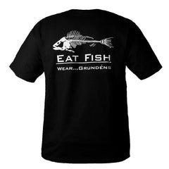 T-shirt 'Eat fish' Grundens boathouse  montreal