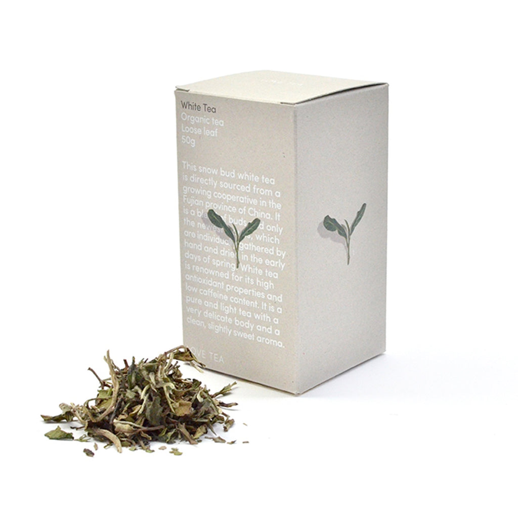 White Tea Loose Leaf Box 50g