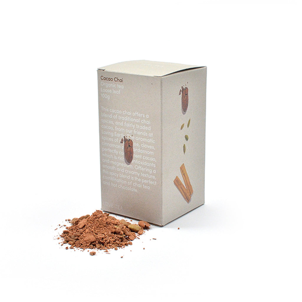 Cacao Chai Loose Leaf Box 100g