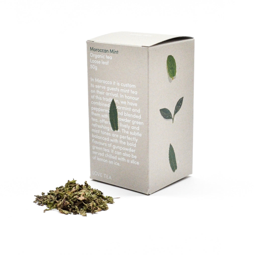 Moroccan Mint Loose Leaf Box 50g