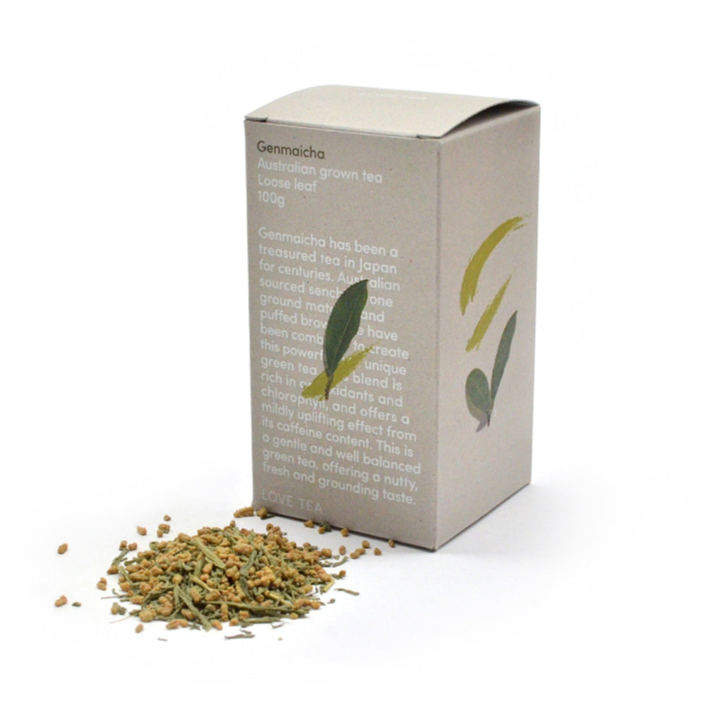 Genmaicha Matcha Loose Leaf Box 100g