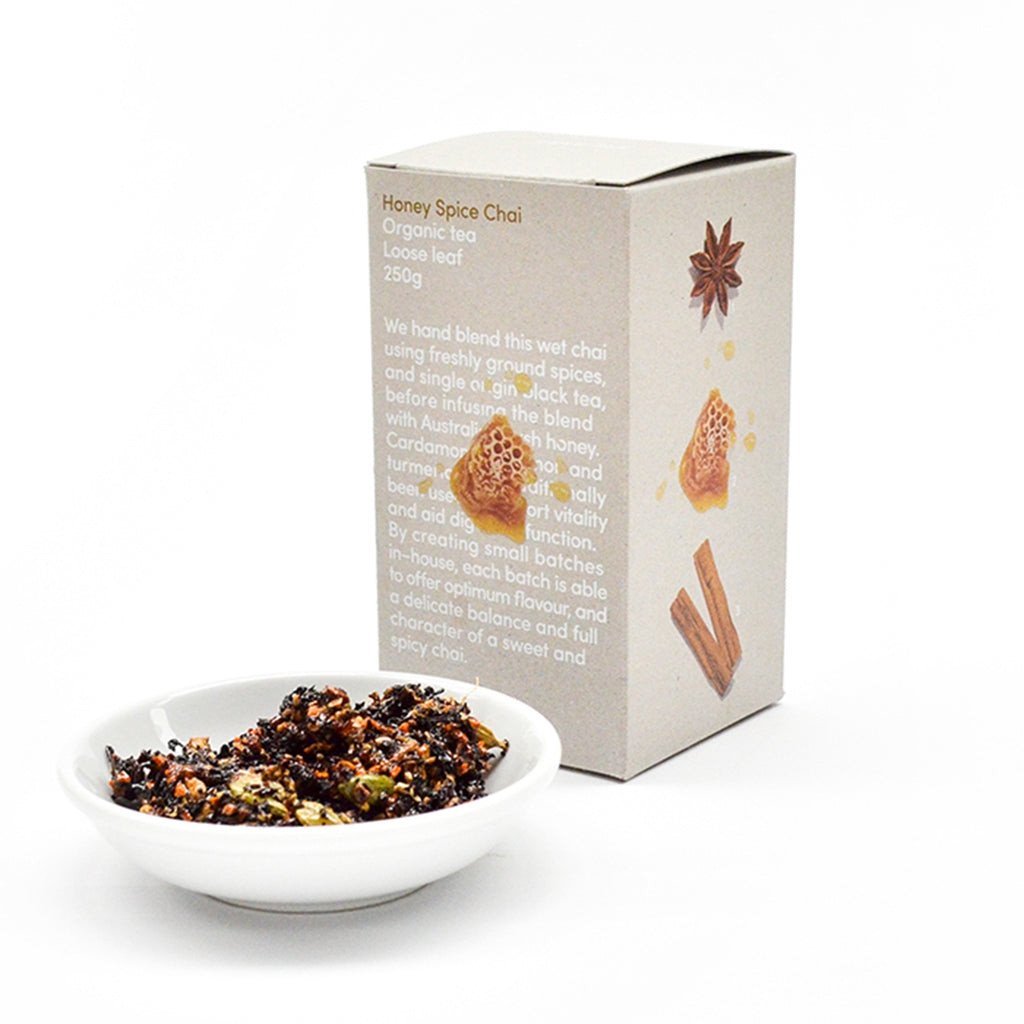 Honey Spice Chai Loose Leaf Box 250g