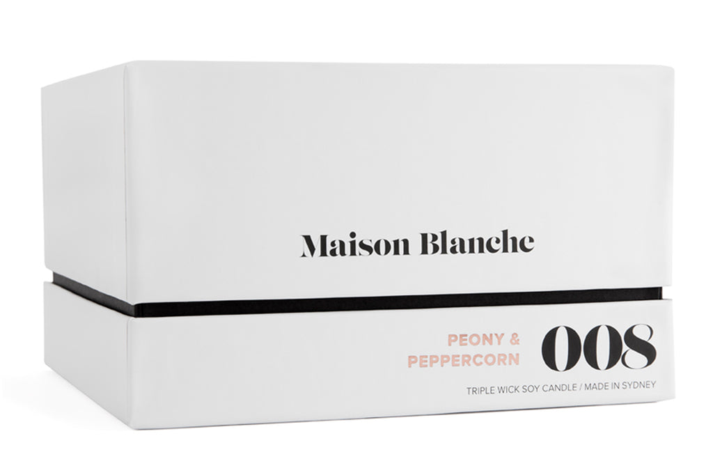 Deluxe Maison Blanche Candle