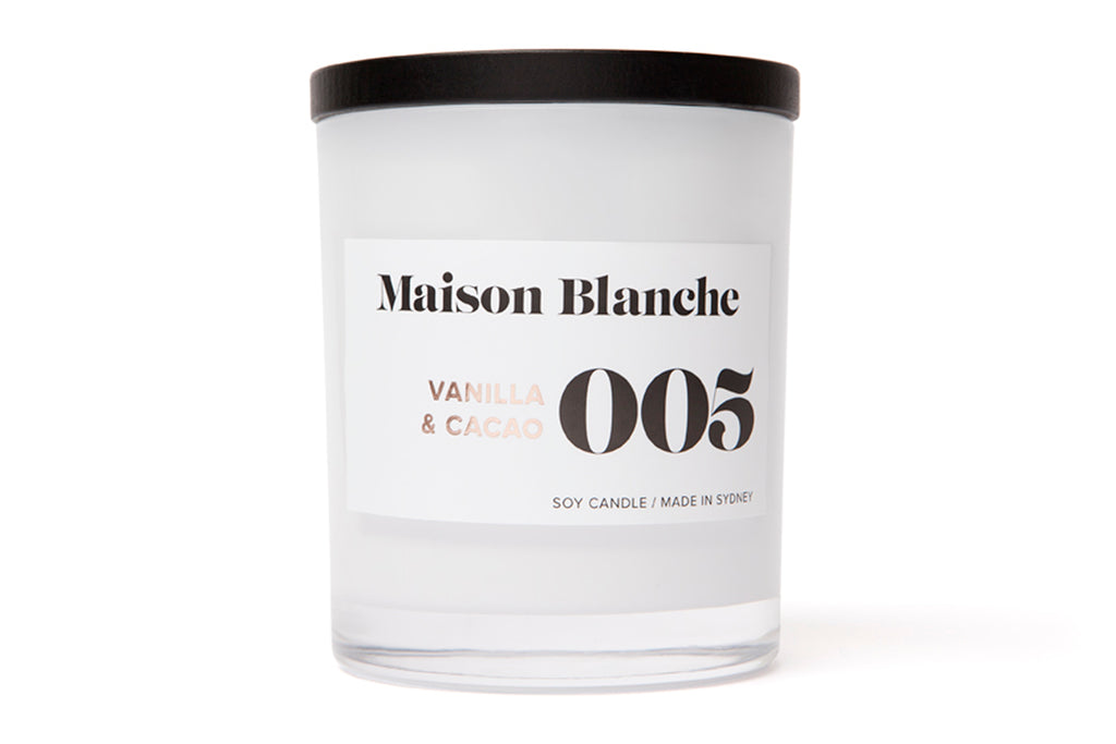 Maison Blanche Candle Large