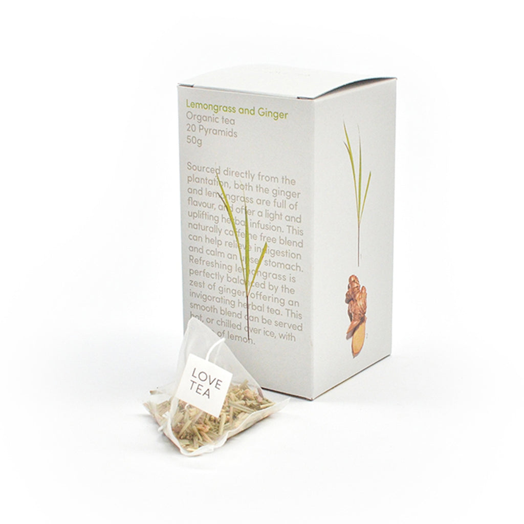 Lemongrass & Ginger Loose Leaf Box 75g