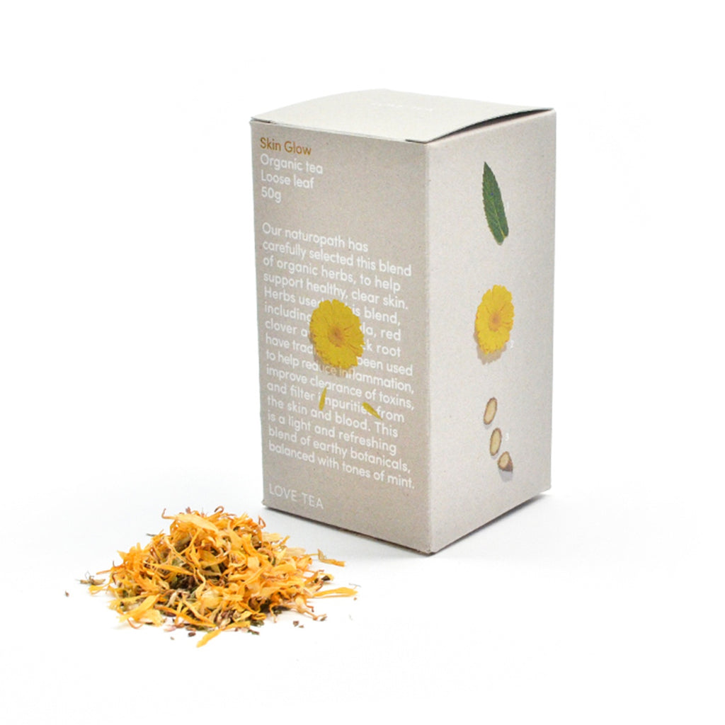 Skin Glow Loose Leaf Box 50g