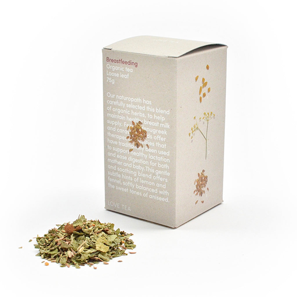 Breast Feeding Loose Leaf Box 75g