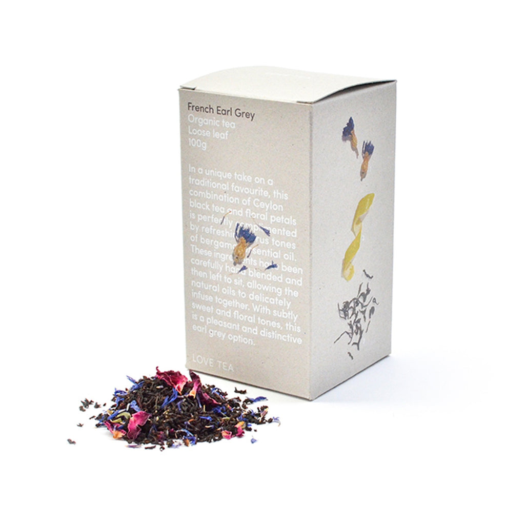 French Earl Grey Loose Leaf Box 100g