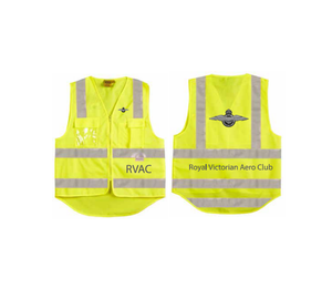 Hi-Vis Safety Vest with ID Pocket & 3M Tapes