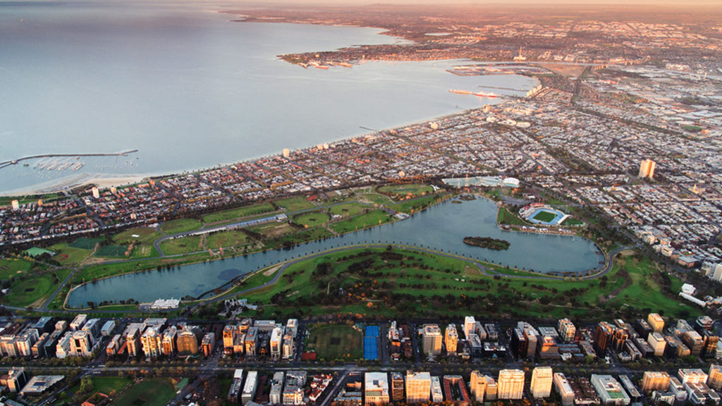 Scenic Flight - Albert Park Region