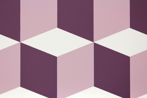 Cubes Pink Purple