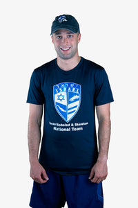 Israel Bobsled & Skeleton Dri-Fit T-shirt