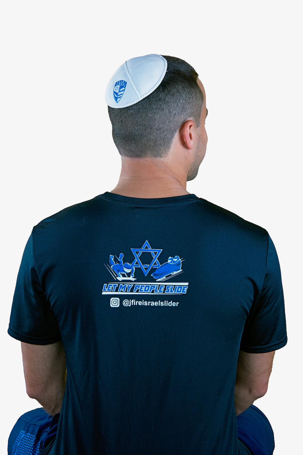 Israel Bobsled & Skeleton Kippah