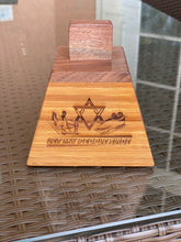 Load image into Gallery viewer, Israel Bobsled & Skeleton Woodcrafted Cowbell