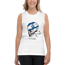 Load image into Gallery viewer, Unisex Israel Skeleton Muscle Tank