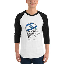 Load image into Gallery viewer, Unisex 3/4 Sleeve Israel Skeleton Team Shirt