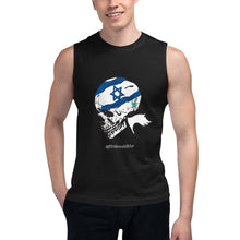 Load image into Gallery viewer, Israel Skeleton Muscle Tank