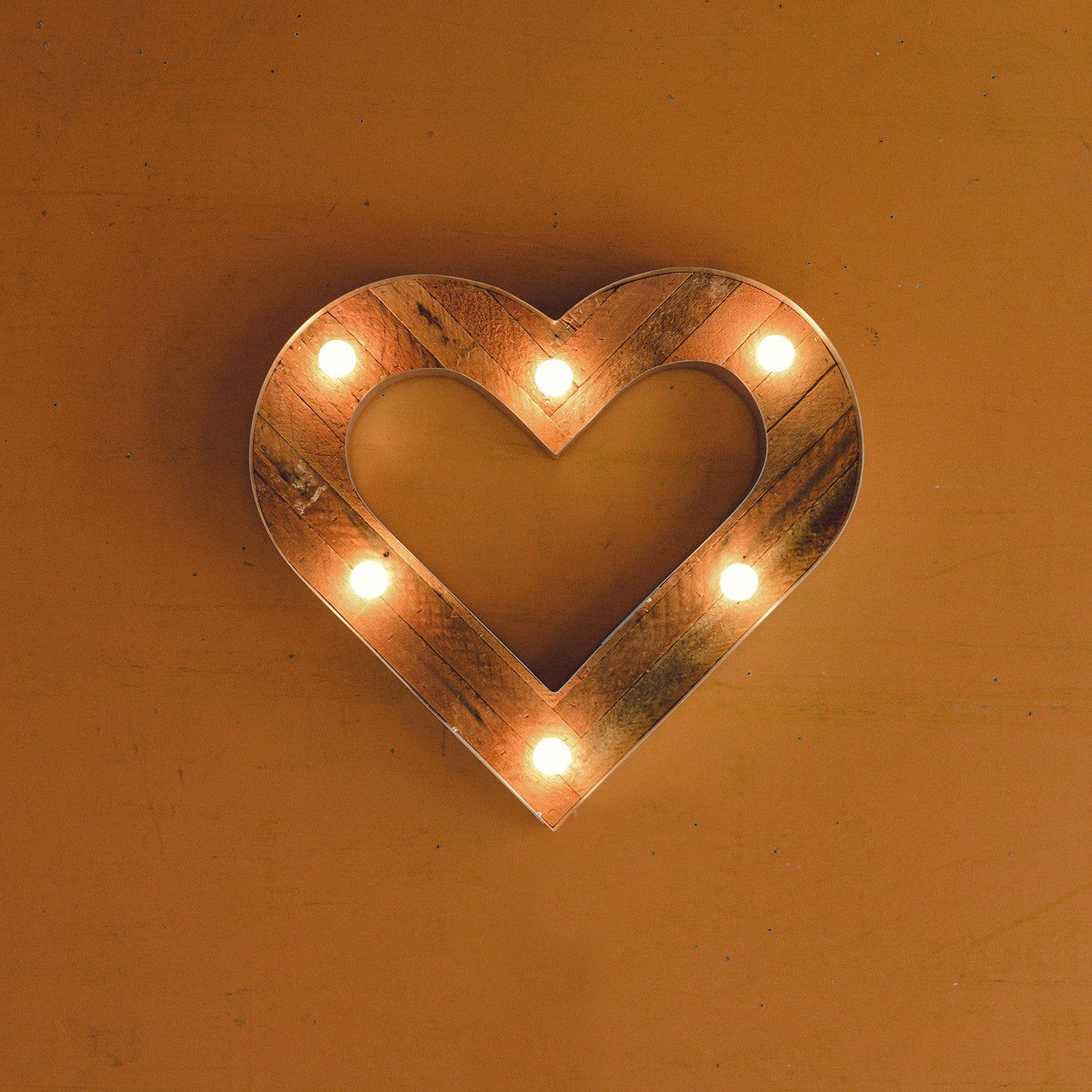Heart Marquee Light Rental