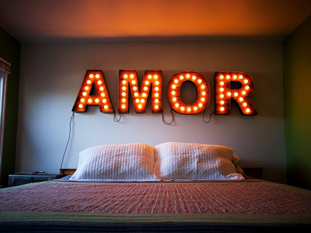 Letter Marquee Lights