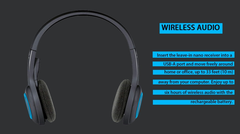 Logitech H600 Wireless Headset Offical Verification With Noise Canceli