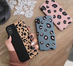 Iphone Leopard Print Case Cover