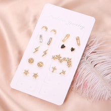Load image into Gallery viewer, NEW 18 Pcs Set Earrings