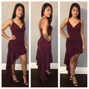 Shelly Dress - Plum