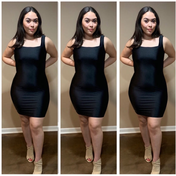 Oh So Fresh Dress - Black