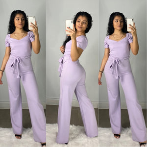 Royal Throne Jumpsuit (Lavender)