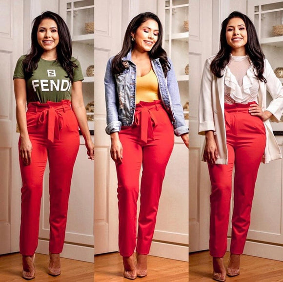 Maddison Pants (Red)