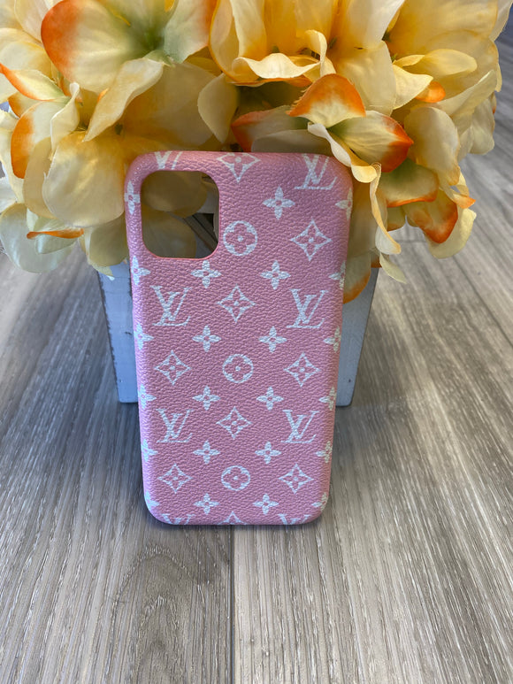 LV Case iPhone 11 (Pink)