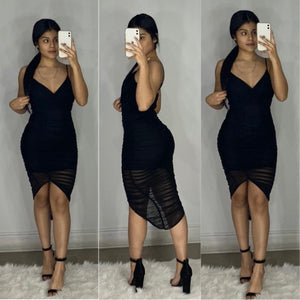 Luciano Dress (Black )
