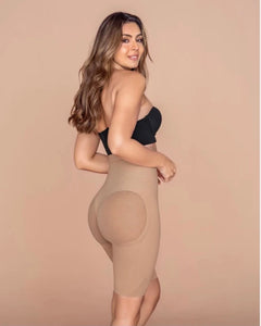 Invisible Extra High-Waisted Shaper Short (Nude)