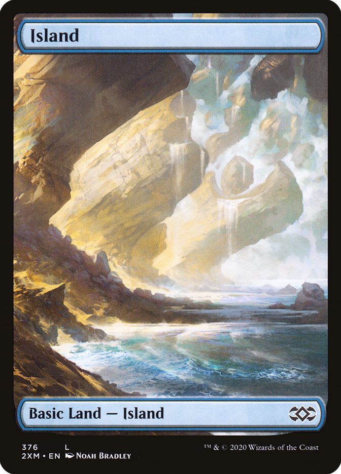 Island (Double Masters) (Foil)