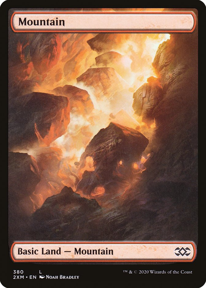 Mountain (Double Masters) (Foil)