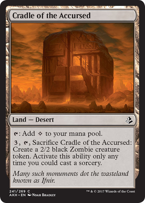 Cradle of the Accursed (Foil)