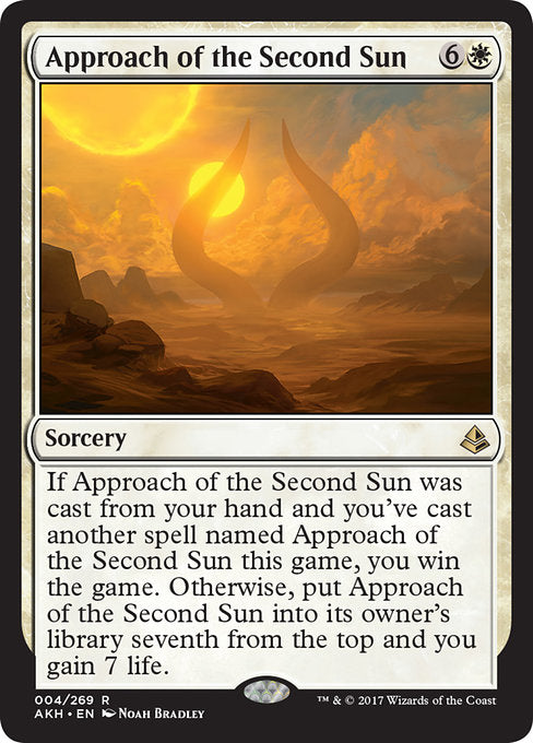 Approach of the Second Sun (Foil)
