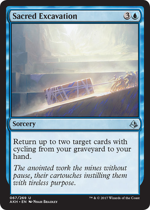 Sacred Excavation (Foil)