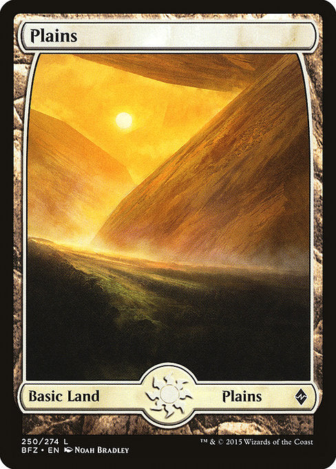 Plains (Battle for Zendikar) (Foil)