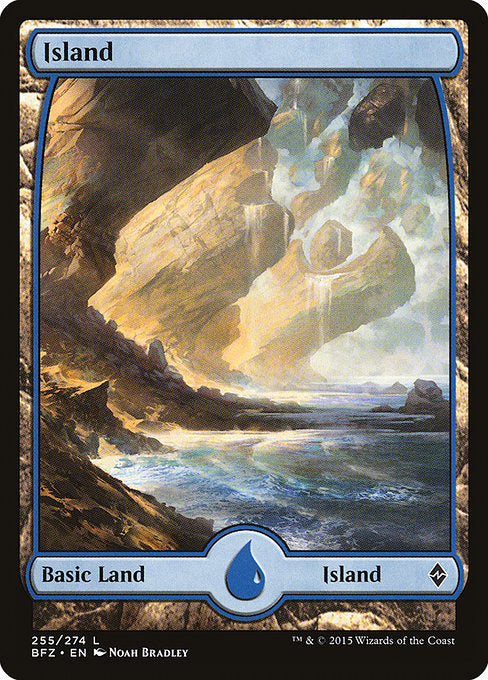 Island (Battle for Zendikar) (Foil)