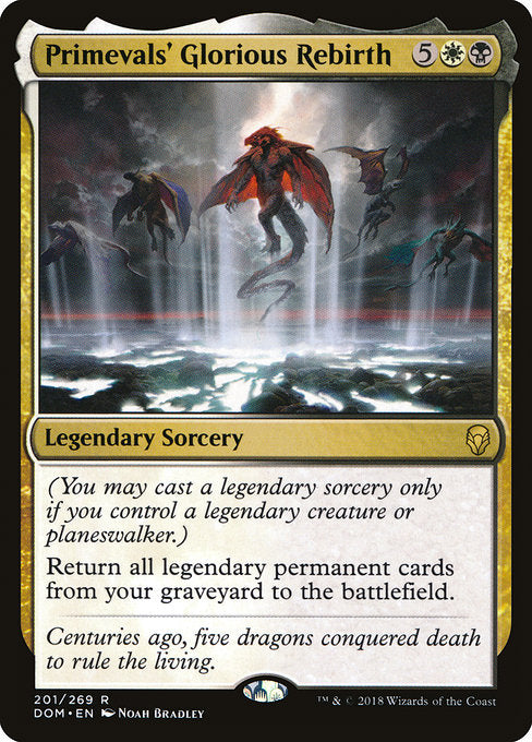 Primevals' Glorious Rebirth (Foil)