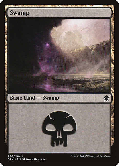 Swamp (Dragons of Tarkir) (Foil)