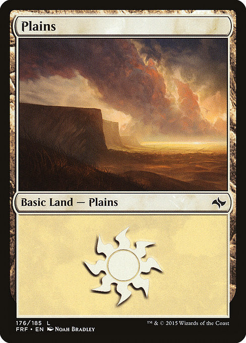Plains (Fate Reforged) (Foil)