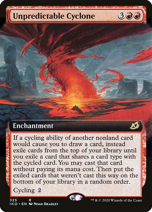 Unpredictable Cyclone (Foil Promo)