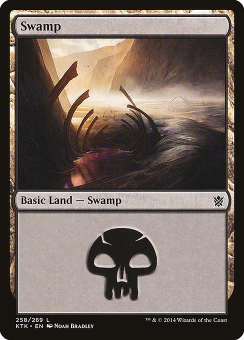 Swamp (Khans of Tarkir)
